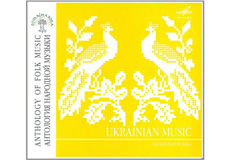 VARIOUS - Anthology Of Folk Music: Ukraininan Music - (CD)