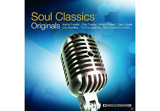 VARIOUS - SOUL CLASSICS (ORIGINALS) - (CD)