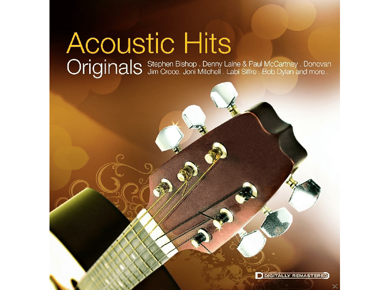VARIOUS - Acoustic Hits - Originals [CD]