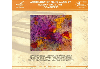 Lev Revutsky, Vsevolod Zaderatsky, Nikolai Andreyevich Roslavets, Samuil Feinberg, Sergei Protopopov, Vladimir Deshevov - Anthology of Piano Music Vol.1 - (CD)