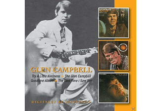 Glen Campbell - Try A Little Kindness/ The Glen Campbell Goodtime Album/ The Last Time I Saw Her - (CD)