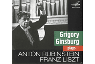Grigori (1904-1961) Ginsburg, State Academic Symphony Orchestra - Gregory Ginsburg plays Liszt & Rubinstein [CD]