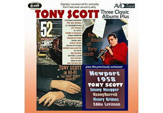 Tony Scott - Three Classic Albums Plus - (CD)