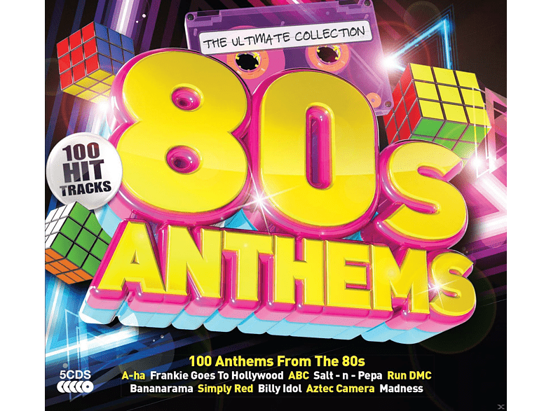 VARIOUS - 80s Anthems [CD]