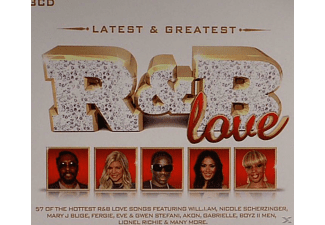 VARIOUS - Latest & Greatest R&B Love - (CD)