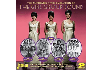 VARIOUS - The Supremes & The Evolution Of The Girl Group Sound - (CD)