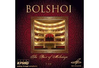 VARIOUS - Bolshoi-Best Of Melodiya - (CD)