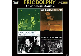 Eric Dolphy - 4 Classic Albums - (CD)