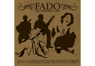 VARIOUS - Fado By The Great Voices - (CD)
