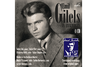 Emil Gilels - Emil Gilels In Ensembles - (CD)