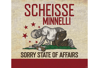 Scheisse Minnelli - Sorry State Of Affairs - (CD)