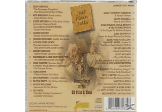 VARIOUS - Just Plain Folks: Song Of The Old Folks At Home - (CD)
