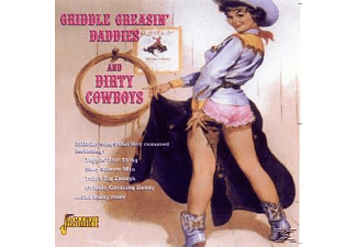 VARIOUS - Griddle Greasin' Daddies & Dirty Cowboys - (CD)
