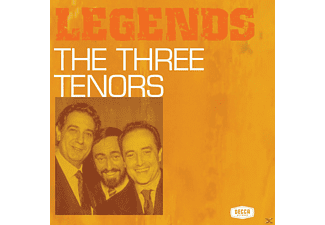 The Three Tenors - Legends - The Three Tenors - (CD)
