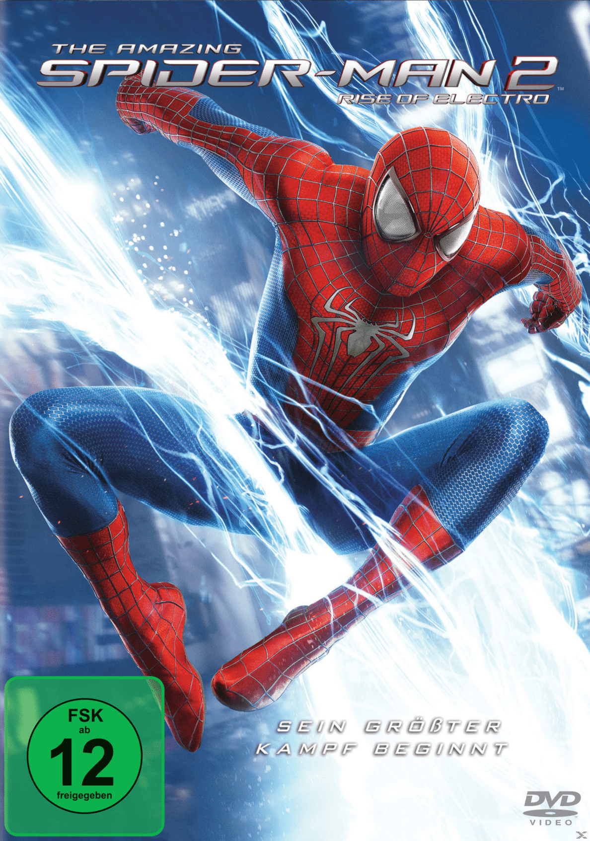 The Amazing Spider-Man 2: Rise of Electro - (DVD)