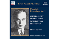 Mischa Levitzki - Complete Recordings Vol.1 [CD]