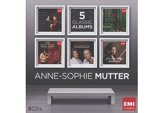 Anne-Sophie Mutter, VARIOUS - A.S.Mutter-Five-In-One [CD]
