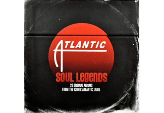 VARIOUS - Atlantic Soul Legends - (CD)