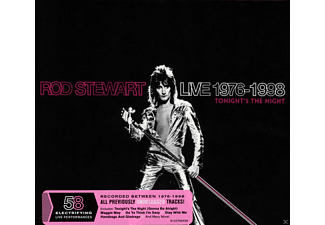 Rod Stewart - Live 1976-1998:Tonight's The Night - (CD)