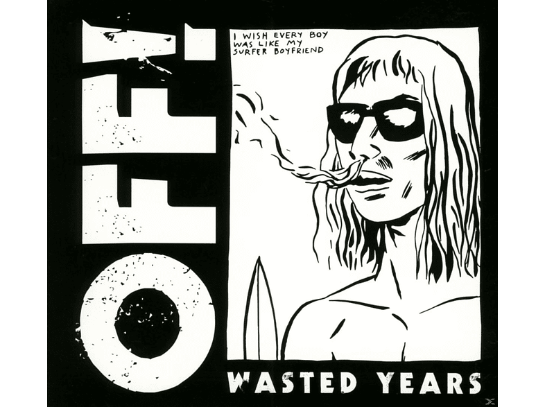 Off - Wasted Years [CD]