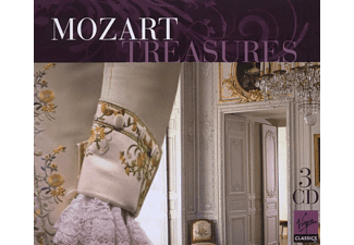VARIOUS, Various Orchestra - Mozart Treasures - (CD)