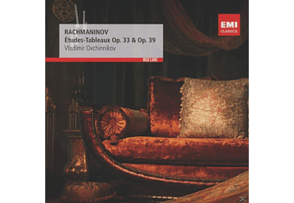 Vladimir Ovchinnikov - Etudes-Tableaux Op.33 & 39 - (CD)