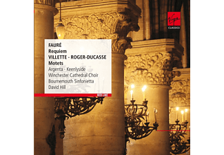 Simon Keenlyside, Nancy Argenta, Winchester Cathedral Choir, Richard Studt, David Hill, Stephen Farr, Bournemouth Sinfonietta, Kenan Burrows - Requiem/Motetten - (CD)