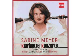 VARIOUS, Meyer Sabine - Klarinettenkonzerte - (CD)
