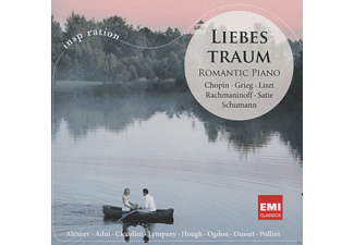 VARIOUS - LIEBESTRAUM - ROMANTIC PIANO INSPIRATION - (CD)