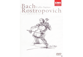 Mstislav Rostropovich - Bach Cello Suites [DVD]
