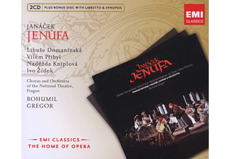 VARIOUS, Chorus and Orchestra of the National Theatre, Prague - Jenufa - (CD + CD-ROM)