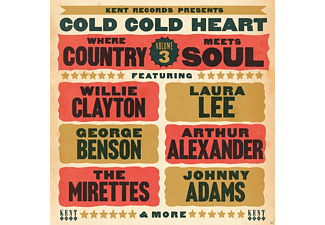 VARIOUS - Cold Cold Heart-Where Country Meets Soul Vol. 3 - (CD)
