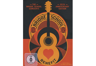 VARIOUS - BRIDGE SCHOOL CONCERTS-25TH ANNIVERSARY EDITION - (DVD)
