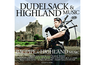 VARIOUS - Bagpipe & Highland Music - (CD)