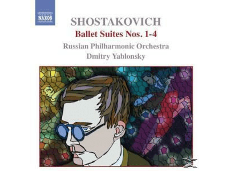 Russian Philharmonic Orchestra, Dmitry Yablonsky Russian Philharmonic Orchestra - Ballettsuiten 1-4 [CD]