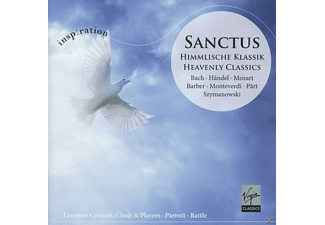 Andrew Parrott, Rattle, David Hill - Sanctus - (CD)