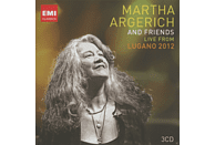 Martha Argerich, VARIOUS - Live From Lugano 2012 [CD]