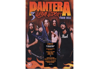 Pantera - 3 VULGAR VIDEOS FROM HELL [DVD]