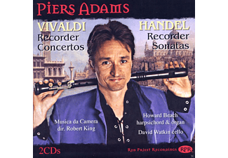 Piers Adams - Blockflöten-Konzerte & Sonaten - (CD)