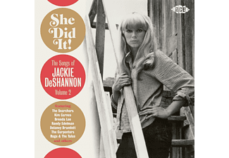 VARIOUS - She Did It! Songs Of Jackie Deshannon Vol.2 - (CD)