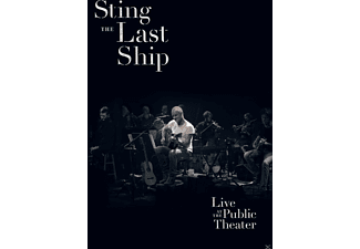 Sting - The Last Ship-Live At The Public Theatre 2013 - (DVD)