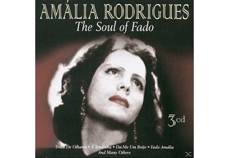 Amália Rodrigues - The Soul Of Fado - (CD)