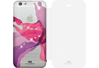 WHITE DIAMONDS Liquids Bookcover Apple iPhone 6, iPhone 6s Kunststoff/Material-Mix/Polyurethan Pink