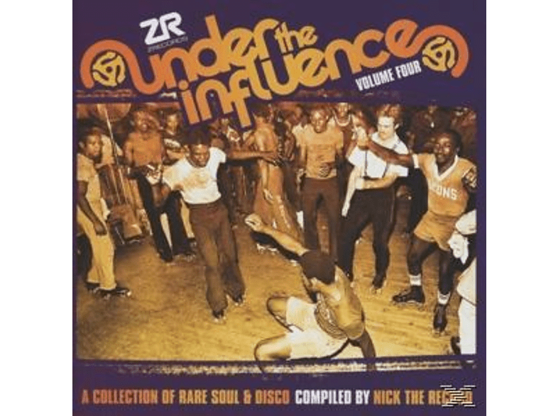 VARIOUS, Nick The Record - Under The Influence Vol.4 Com [CD]