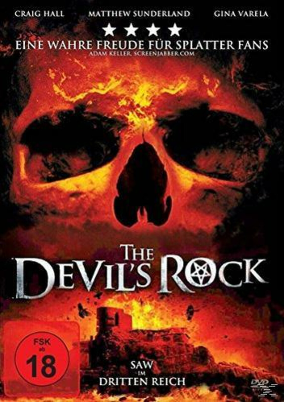 The Devil's Rock - (DVD)