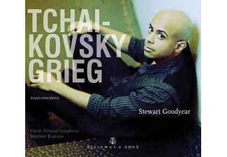 Stewart Goodyear, Czech National Symphony - Piano Concertos - (CD)