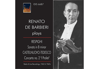 Carlo Farina, Orchestra di San Remo - De Barbieri Plays Respighi And Castelnuovo-Tedesco - (CD)