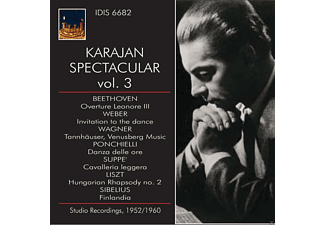 The Philharmonia Orchestra - Karajan Spectacular Vol.3 - (CD)