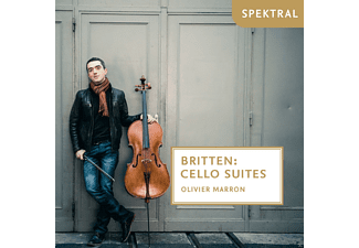 Olivier Marron - Cello Suites - (CD)