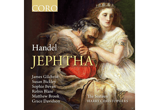 James Gilchrist, Susan Bickley, Sophie Bevan, Robin Blaze, Matthew Brook, Grace Davidson, The Sixteen - Jephtha - (CD)